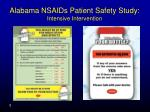 alabama nsaids patient safety study intensive intervention