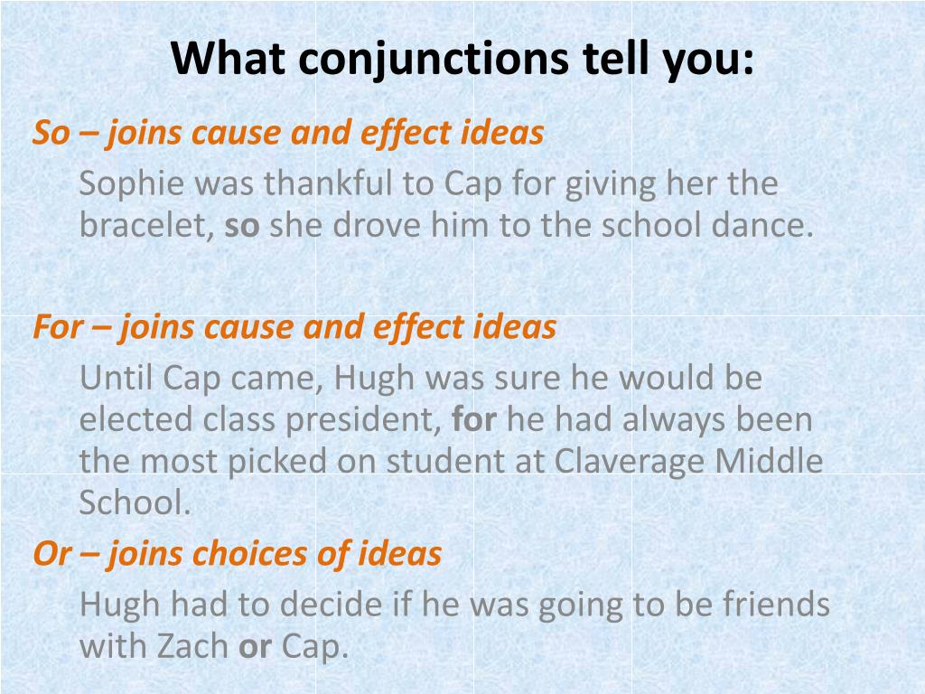 PPT - Conjunctions PowerPoint Presentation - ID:6413407