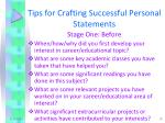 tips for crafting successful personal statements3