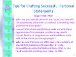 tips for crafting successful personal statements5