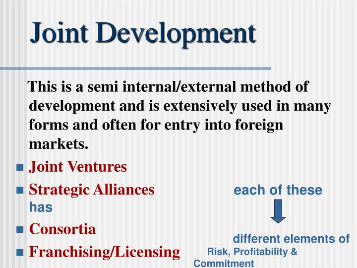 joint ventures and strategic alliances of heineken This chapter describes the various forms of cooperative relationships common in business today, including joint ventures, partnerships, strategic alliances, equ.