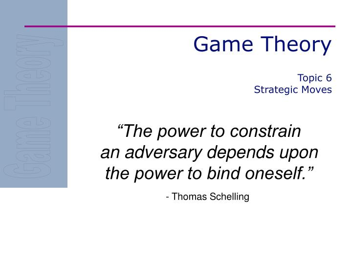 PPT - Game Theory PowerPoint Presentation, free download - ID:6413799