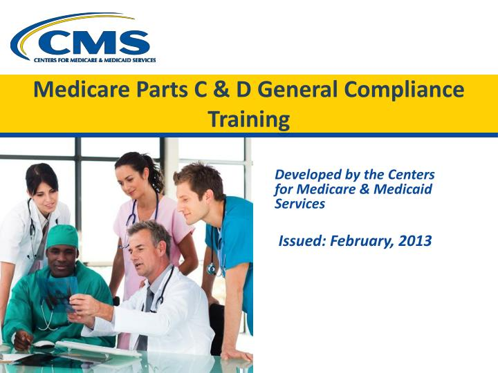 medicare parts c d general compliance training n.