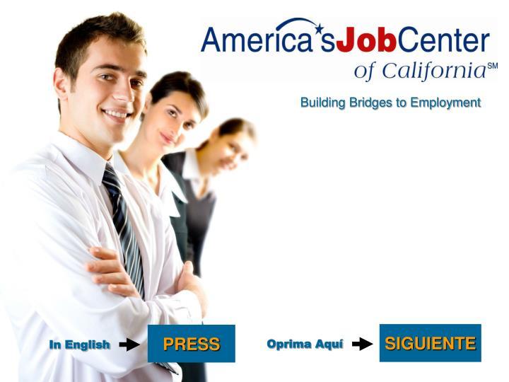 Building Bridges to Employment