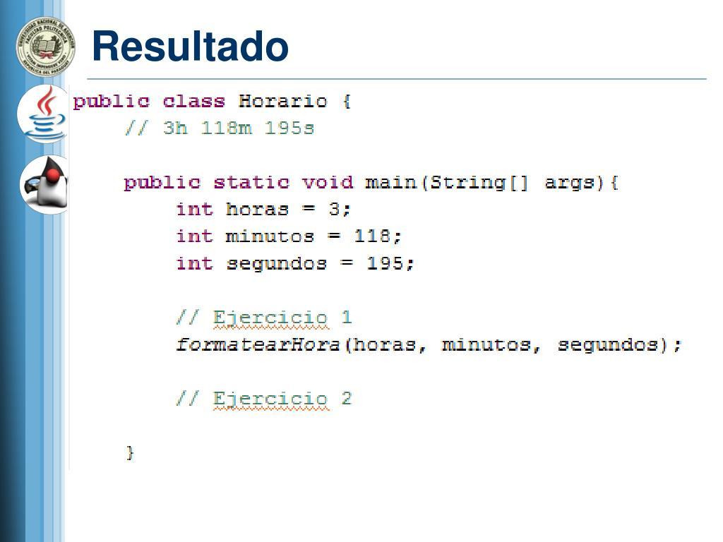 Ppt Curso De Java Estructura Del Lenguaje Powerpoint