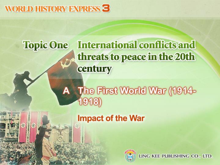 the lasting impacts of the first world war The effects of world war i gave rise to the russian revolution of 1917 by the end of 1916, two years of total war had placed enormous strain on all combatant nations none felt this more severely than russia, which had entered the war confident but in a precarious political, economic and social state.