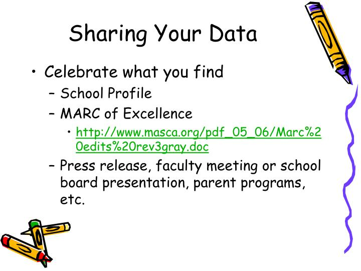 Sharing Your Data