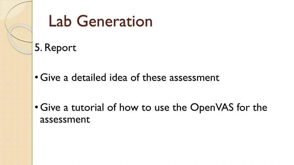 PPT - OpenVAS Vulnerability Assessment PowerPoint Presentation - ID