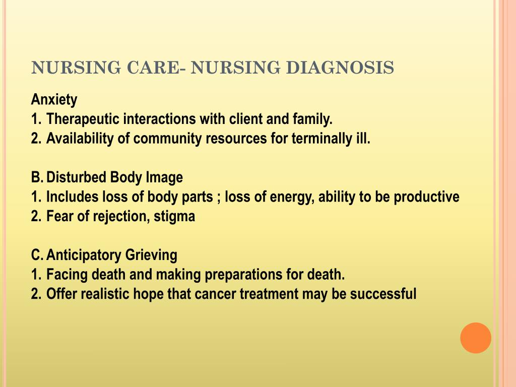 PPT - NURSING CARE PLAN PATIENT WITH GYNECOLOGY ...