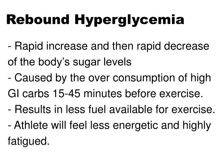 Rebound Hyperglycemia