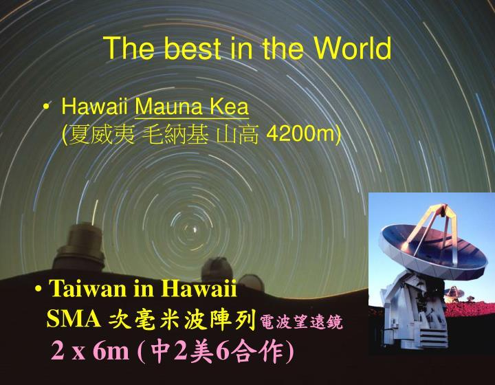 Taiwan in