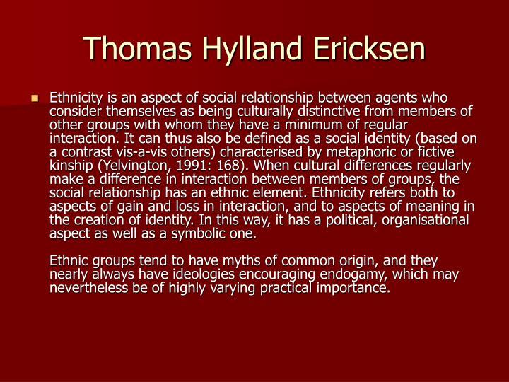 Thomas Hylland Ericksen