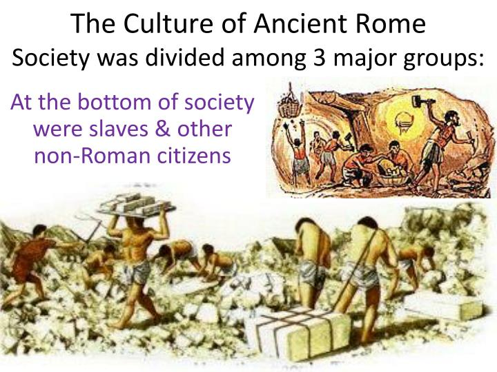 an overview of the culture of rome an ancient country The roman world of jesus: an overview the jewish world of jesus: an overview hellenistic / roman religion & philosophy archaeology and the dead sea scrolls.