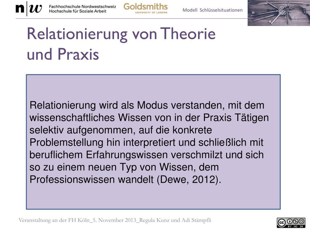 PPT - Modell Schlüsselsituationen der Sozialen Arbeit