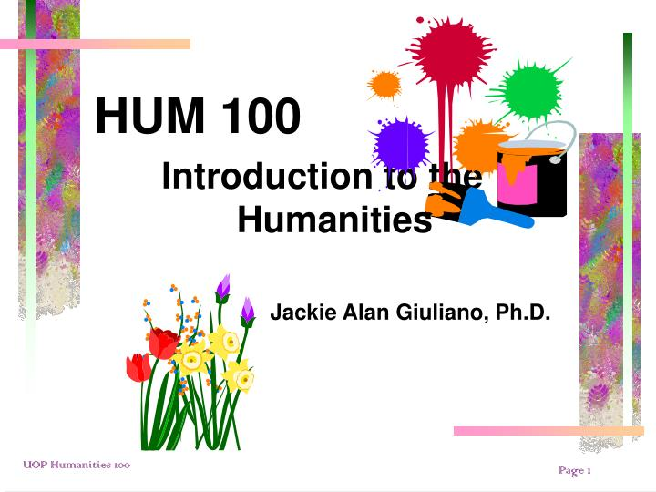hum 100 Study 44 hum 100 - ch4 flashcards from janina g on studyblue popular study materials from arts & humanities 100.
