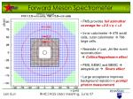 forward meson spectrometer