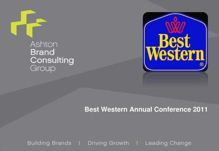 best western annual conference 2011 n.