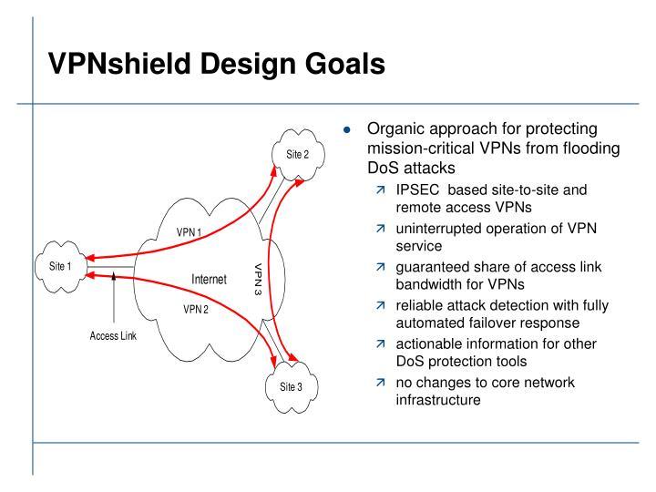 VPNshield Design Goals