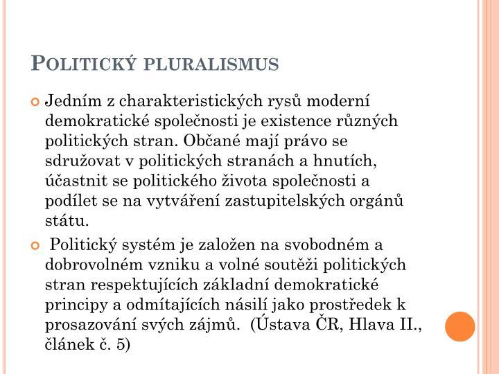 Politick pluralismus
