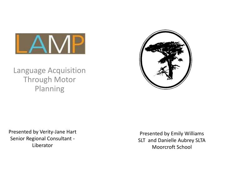 Ppt language acquisition through motor planning for What is motor planning