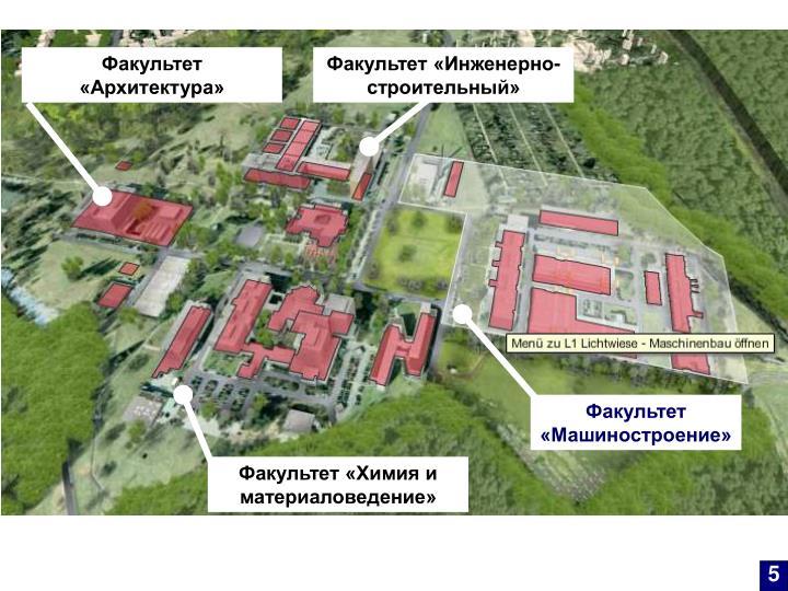Факультет «Архитектура»