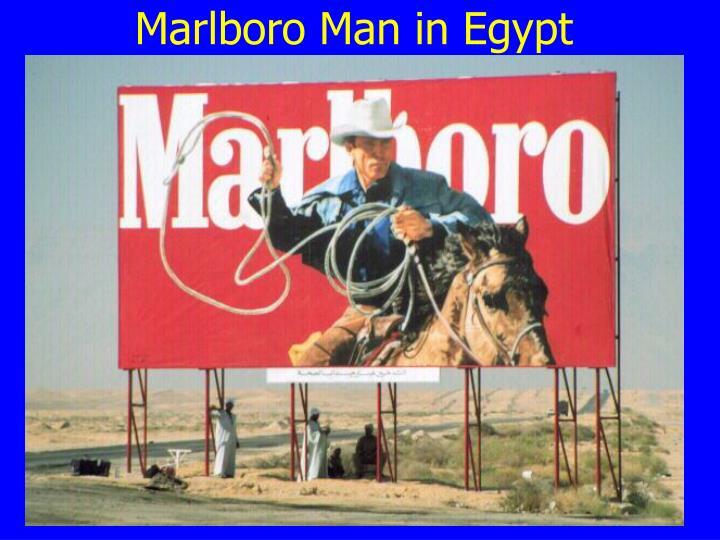 Marlboro Man in Egypt