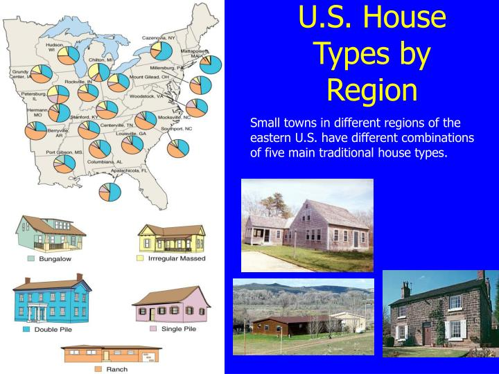 U.S. House Types by Region