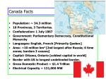 canada facts
