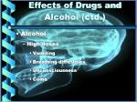 effects of drugs and alcohol ctd2