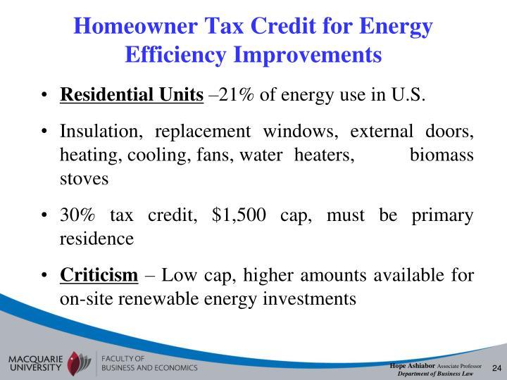Energy Efficient Renovations : Ppt hope ashiabor associate professor macquarie