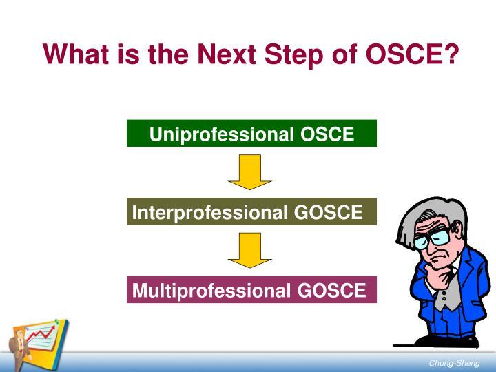Uniprofessional OSCE