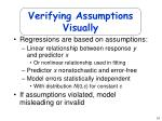 verifying assumptions visually