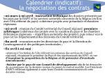 calendrier indicatif la n gociation des contrats1
