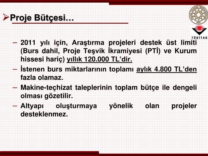 Proje Bütçesi…