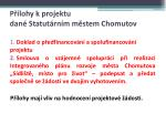 p lohy k projektu dan statut rn m m stem chomutov
