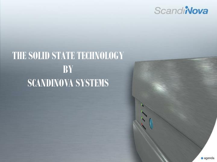 THE SOLID STATE TECHNOLOGY