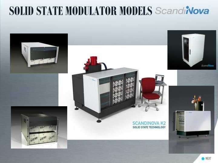 SOLID STATE MODULATOR MODELS