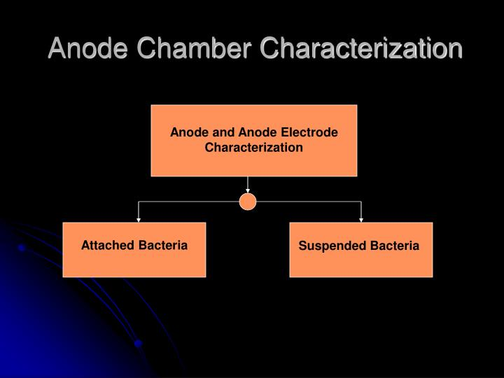 Anode Chamber Characterization