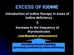 excess of iodine1