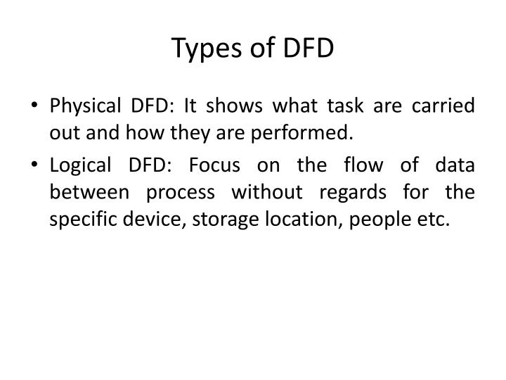 Types of DFD