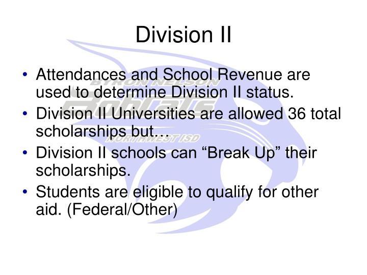 Division II