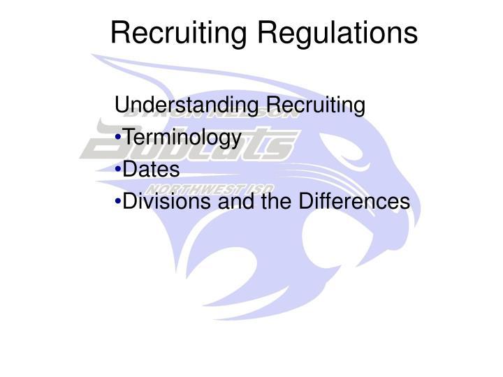Recruiting Regulations