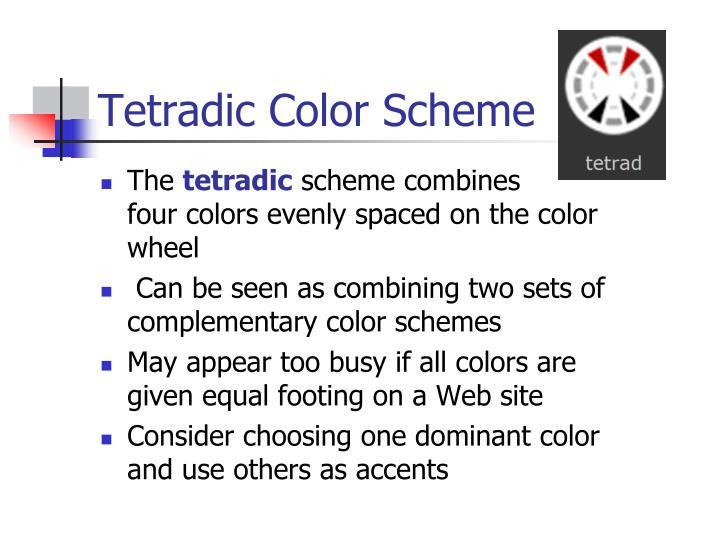 Tetradic Color Scheme