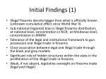 initial findings 1