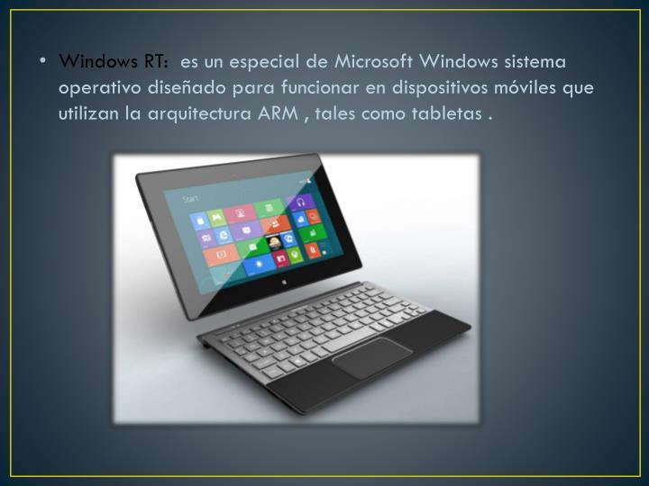 Windows RT: