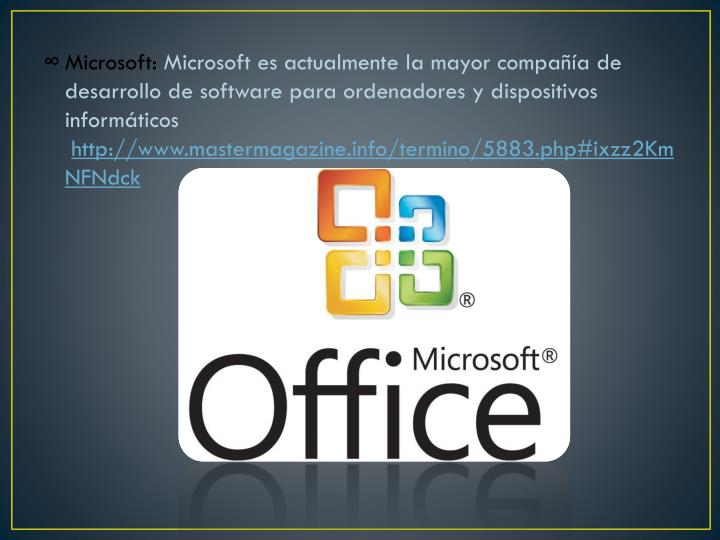 Microsoft: