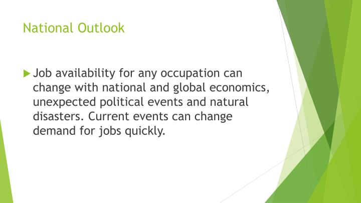 National Outlook