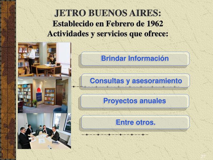 JETRO BUENOS AIRES: