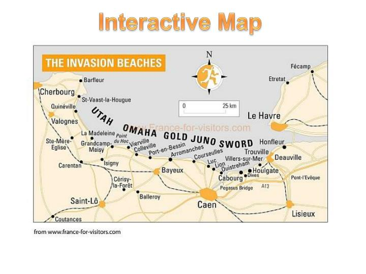PPT Interactive Map PowerPoint Presentation ID 6426048