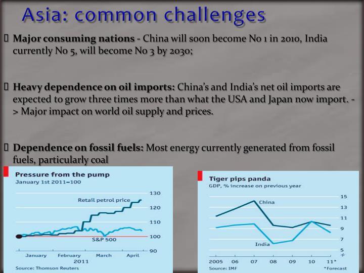 Asia: common challenges